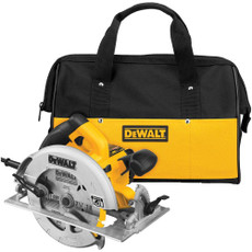 "DeWalt 15 Amp 7-1/4"" Lightweight Circular Saw w/ Electric Brake, DWE575SB"
