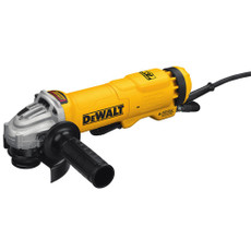 "DeWalt 4 1/2"" Corded Small Angle Paddle Switch Angle Grinder w/ Brake & No-Lock On, DWE4222N"