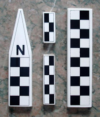 Mini North Arrow/Metric Scale Set (CRT106)