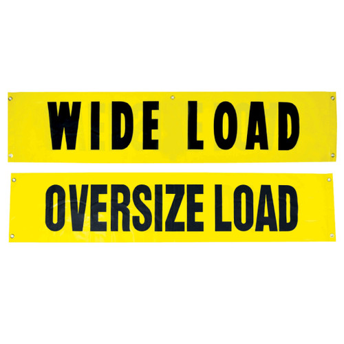 Wide Load & OverSized Load Banners