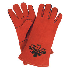 Memphis Red Ram Leather Welders Gloves, 4720