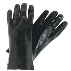 Memphis Single Dipped PVC Coated Interlock Lined Gloves