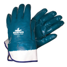 Memphis Fully Coated Predator Thick Nitrile Gloves, 9761