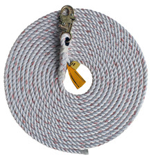 "DBI-Sala Lifeline 5/8"" Double Locking Dropline Rope w/ Snap Hook - 100 Foot"