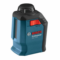 Bosch 360 Degree Horizontal Cross-Line Laser Level, GLL-2-20