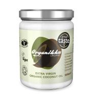Organikku Extra Virgin Organic Raw Coconut Oil - Cold Pressed - 500ml
