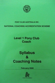 NCAS Level 1 Coaching Workbook & Log (PCA)