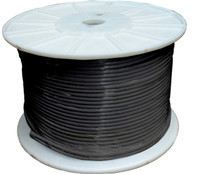 Cat5E 305 metre Black SFTP Solid Shielded Cable Roll