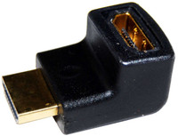 HDMI Up Angled Adapter High Speed with Ethernet GOLD Plated