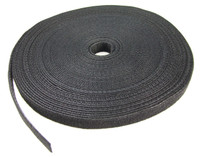 20M Roll of Hook & Loop, dual sided, Black