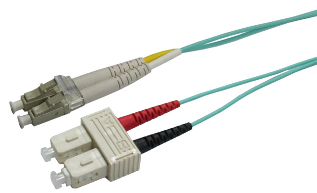 OM3 LC-SC Fibre Patch Lead 50u