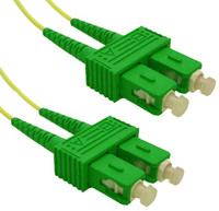OS1 SC APC/SC APC Fibre Patch Lead 9u