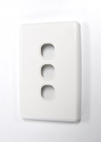 Triple Port Face Plate - Type 2