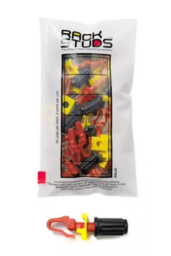 RACKSTUDS 20 pack - Red
