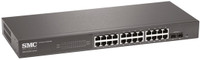 SMC 24 Port Gigabit Smart Managed Ethernet Switch with 2 SFP Ports