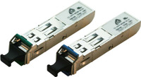 1.25G Singlemode WDM SFP LC Modules Distance 10KM - CISCO & Generic Brand Compatible