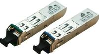 1.25G Singlemode WDM SFP LC Modules Distance 10KM - HP & Generic Brand Compatible