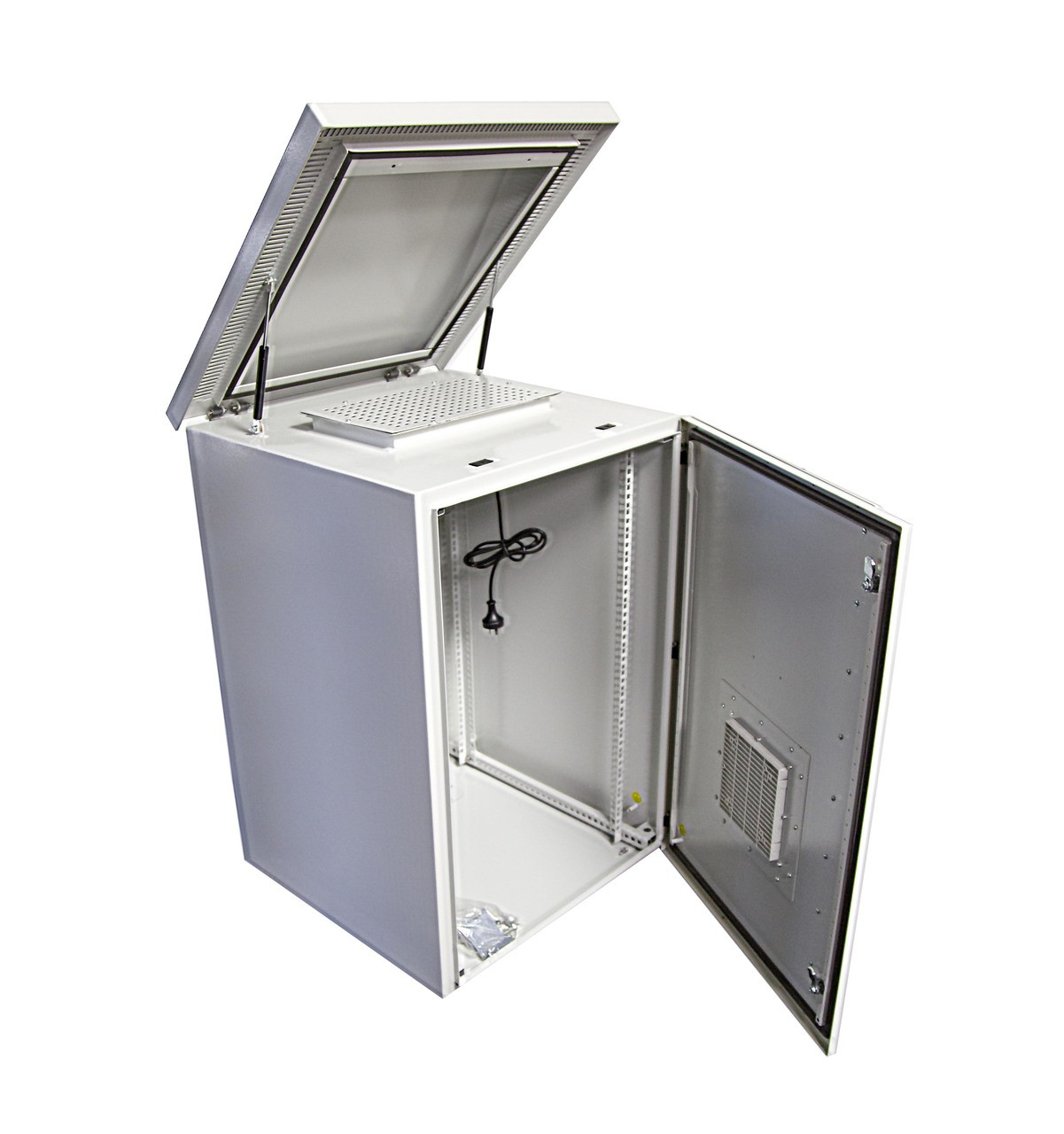 Outdoor Dust Proof Wall Mount Server Rack Cabinet Vented