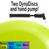 Exertools Dynadiscs 2-Pk (incl Hand Pump) - Meadow Green