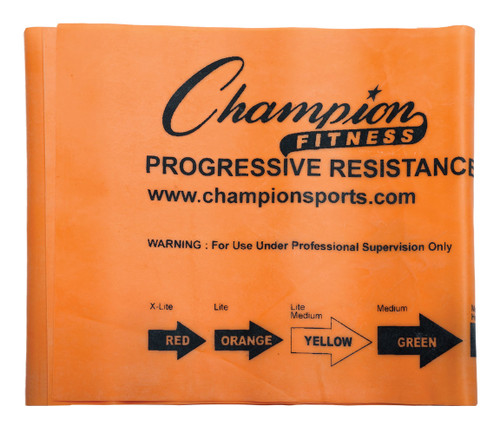 4.5 LB RESISTANCE THERAPY & EXERCISE FLAT BAND ORANGE