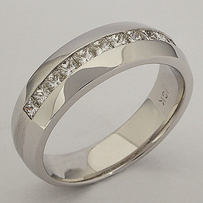 Men's Diamond Wedding Band diawb204-diamond-wedding-band