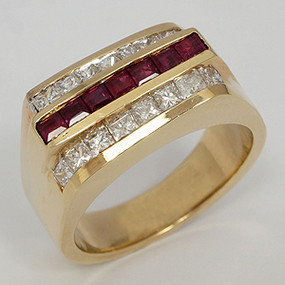 Men's Diamond Wedding Band diawb192-diamond-wedding-band