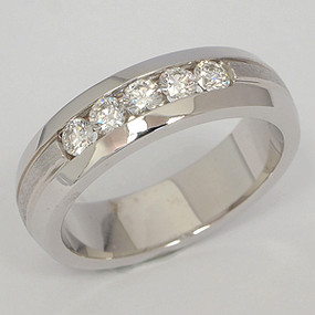 Men's Diamond Wedding Band diawb144-diamond-wedding-band