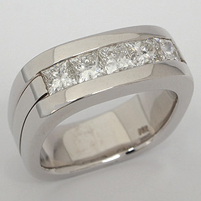 Men's Diamond Wedding Band diawb137-diamond-wedding-band