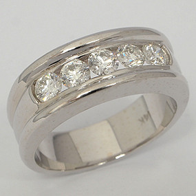 Men's Diamond Wedding Band diawb135-diamond-wedding-band