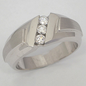 Men's Diamond Wedding Band diawb118-diamond-wedding-band
