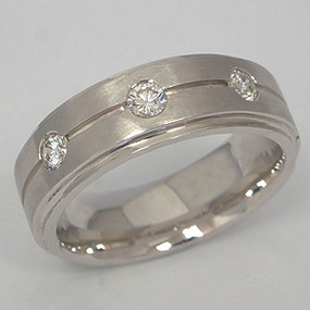 Men's Diamond Wedding Band diawb109-diamond-wedding-band