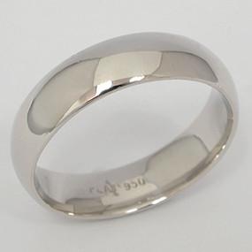 Men's White gold Wedding Band pgwb144-gold-wedding-band