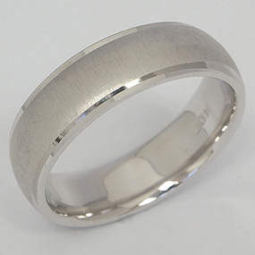 Men's White gold Wedding Band pgwb136-gold-wedding-band
