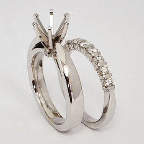 wedding set wedding-ring-set-156