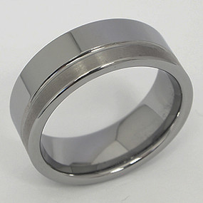 Men's Tungsten Wedding Band tung138-tungsten-wedding-band