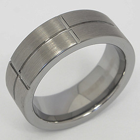 Men's Tungsten Wedding Band tung136-tungsten-wedding-band