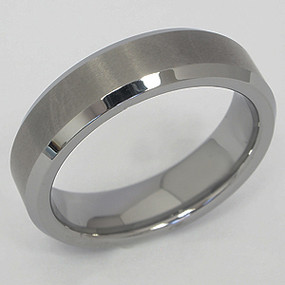 Men's Tungsten Wedding Band tung134-tungsten-wedding-band