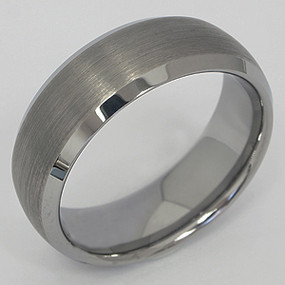 Men's Tungsten Wedding Band tung132-tungsten-wedding-band