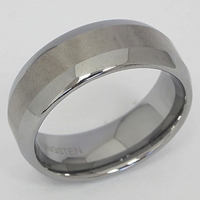 Men's Tungsten Wedding Band tung130-tungsten-wedding-band