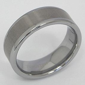 Men's Tungsten Wedding Band tung128-tungsten-wedding-band