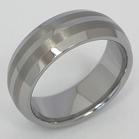 Men's Tungsten Wedding Band tung127-tungsten-wedding-band