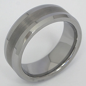 Men's Tungsten Wedding Band tung126-tungsten-wedding-band