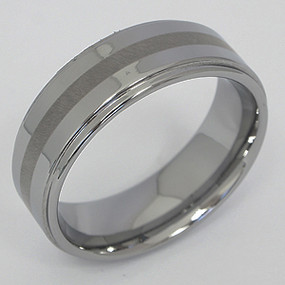 Men's Tungsten Wedding Band tung125-tungsten-wedding-band