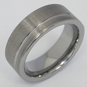 Men's Tungsten Wedding Band tung117-tungsten-wedding-band