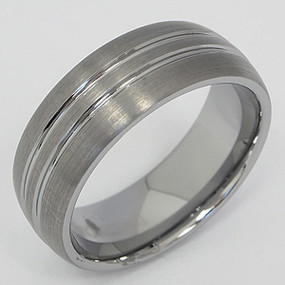 Men's Tungsten Wedding Band tung102-tungsten-wedding-band