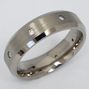 Men's Titanium Wedding Band tita131-titanium-wedding-band