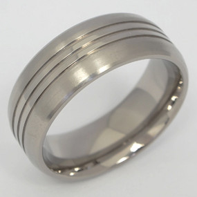 Men's Titanium Wedding Band
