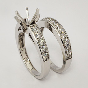 wedding set wedding-ring-set-135