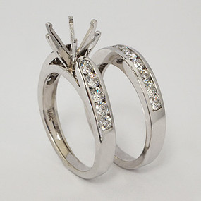 wedding set wedding-ring-set-136