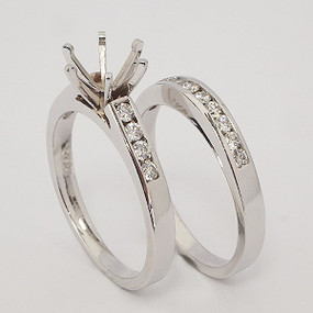 wedding set wedding-ring-set-125